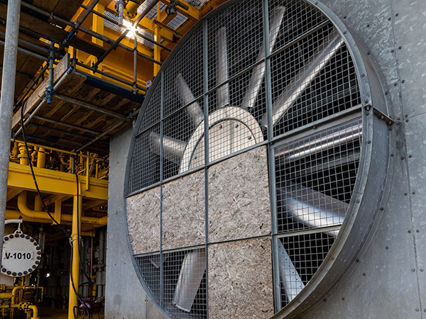 Drive systems of large fans